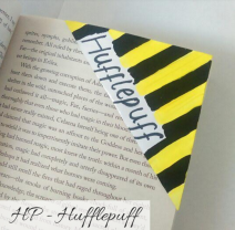 bookmark - hufflepuff